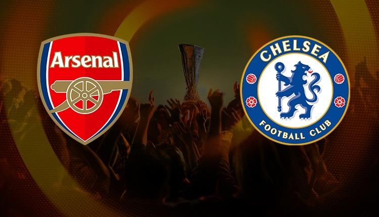 UEFA Kupası sahibini buluyor! Chelsea - Arsenal saat kaçta, hangi kanalda?
