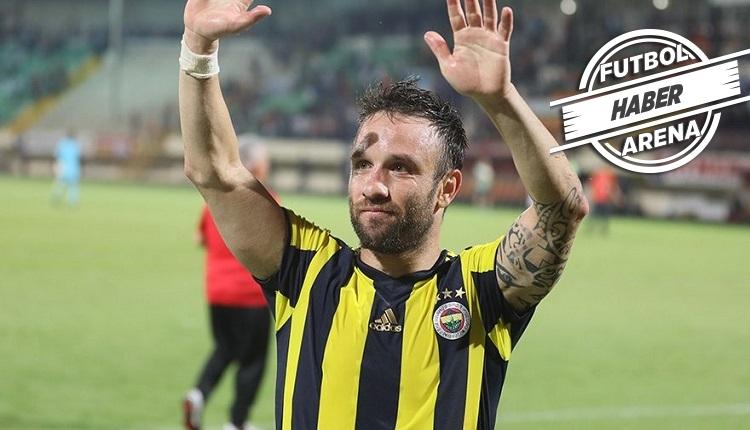 Valbuena Fenerbahçe'ye veda etti:
