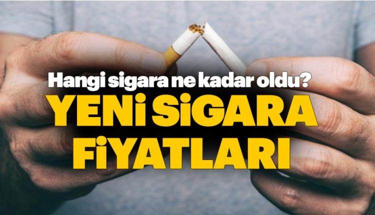Yeni sigara fiyatları (Winston, Camel, Muratti zam fiyatları)