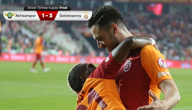 Ziraat Türkiye Kupası, Galatasaray'ın (Akhisar 1-3 Galatasaray özeti ve golleri)