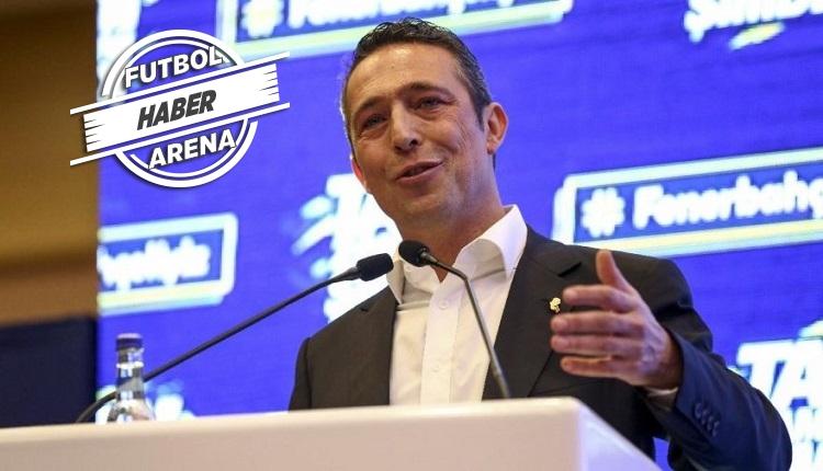 Ali Koç'tan canlı yayında transfer müjdesi: