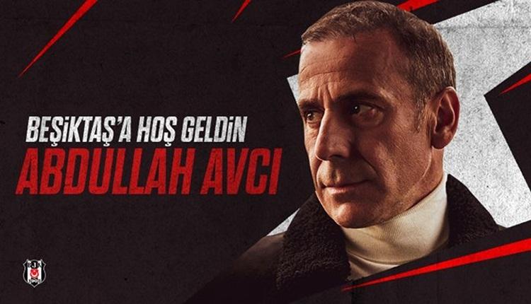 Beşiktaş, Abdullah Avcı ile 3 yıllık sözleşme imzaladı! Açıklandı