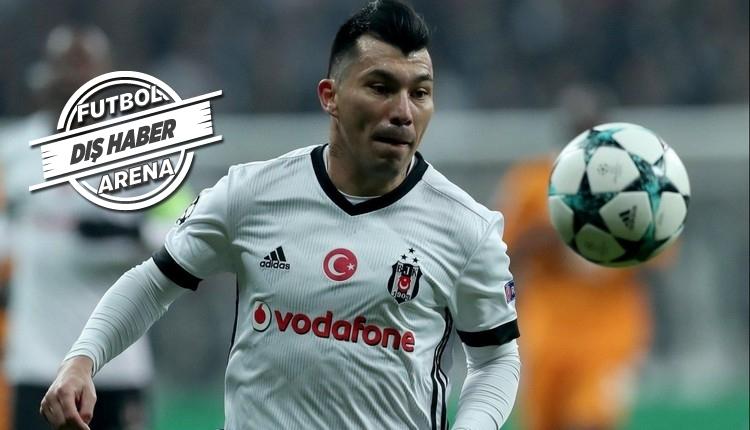 Beşiktaşlı Gary Medel'in eşinden transfer mesajı