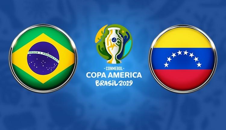 Brezilya - Venezuela canlı, şifresiz izle (TRT Spor izle)