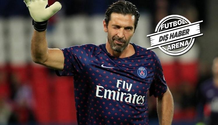 Buffon PSG'den ayrıldı! İlk açıklama: 'Kariyerimde yeni deneyimler...'