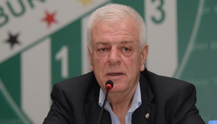 Bursaspor'da Ali Ay yönetimi ibra edilmedi! Yeni başkan Mesut Mestan