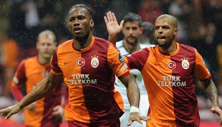 Drogba'dan Fenerbahçe'ye Felipe Melo göndermesi