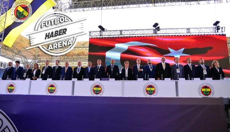 Fenerbahçe yönetimi ibra edildi - Mali Genel Kurul