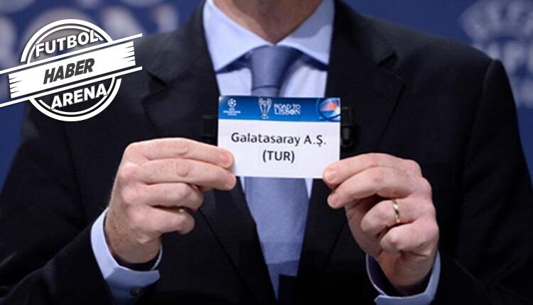 Galatasaray'ın Şampiyonlar Ligi'nde muhtemel rakipleri