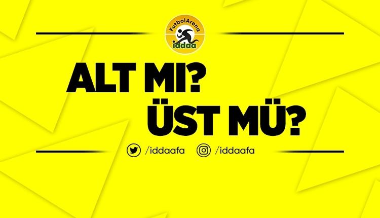 İddaa ALT - ÜST tahmini! (Kaç gol atılır? 26 Haziran 2019 Çarşamba)