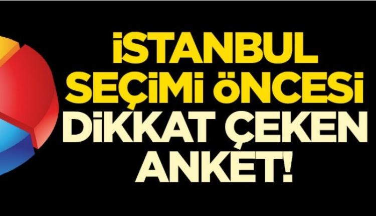 İstanbul'da seçim öncesinde son anket sonuçları (Sonar İstanbul seçim anketi)