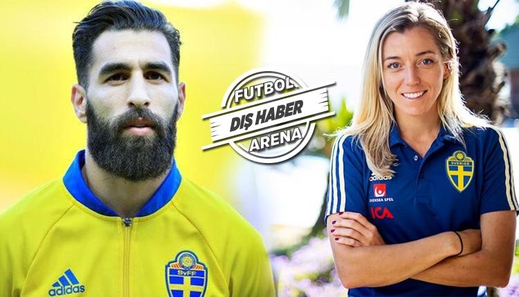 Jimmy Durmaz'dan sürpriz karar! Kadın futbolcudan destek