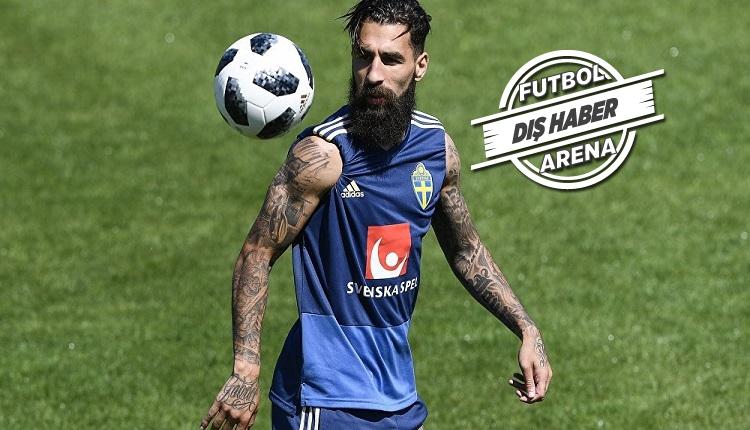 Jimmy Durmaz'ın Galatasaray'a transferi imza aşamasında