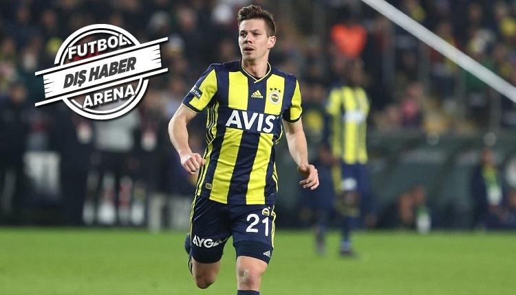 Miha Zajc Fenerbahçe'den ayrılıyor mu? Menajeri açıkladı