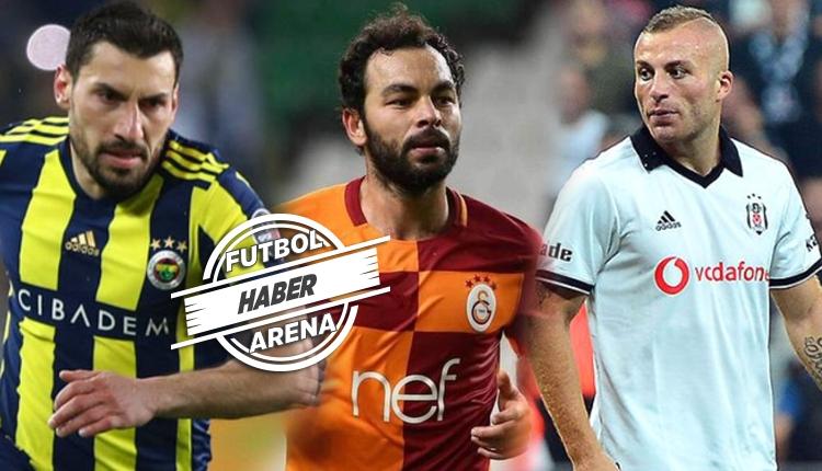 Sözleşmesi biten Türk futbolcular! Bedava transferler
