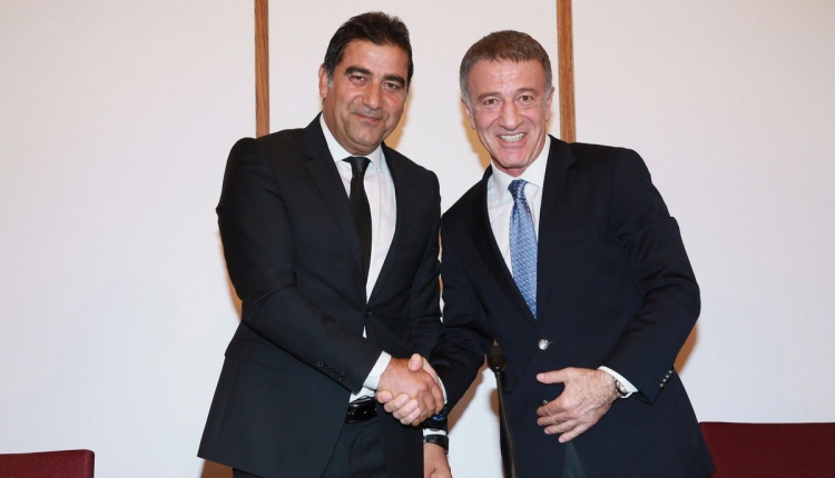 Trabzonspor, Ünal Karaman'ın sözleşmesini KAP'a bildirdi