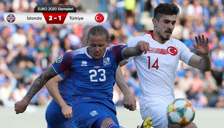 Türkiye, İzlanda deplasmanında mağlup oldu