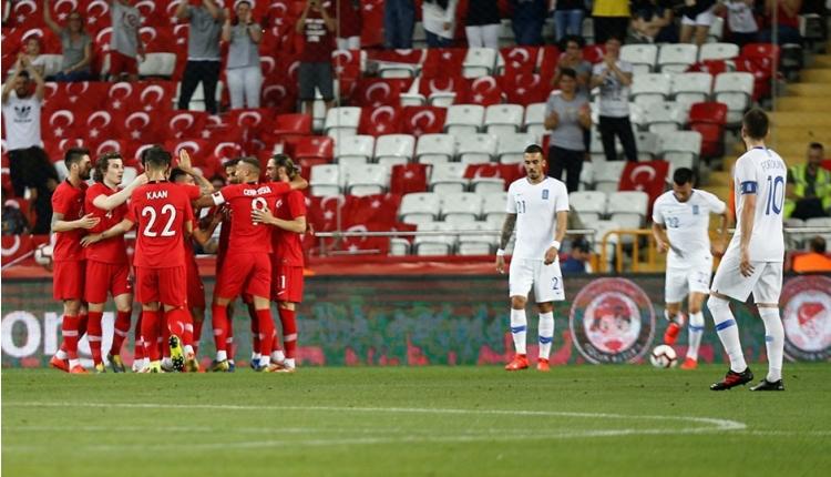 Türkiye - Özbekistan maçı ilk 11'leri açıklandı