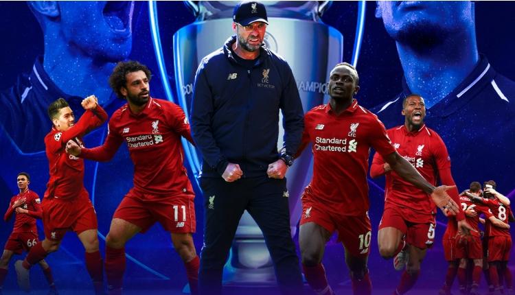 UEFA Şampiyonlar Ligi Şampiyonu Liverpool!