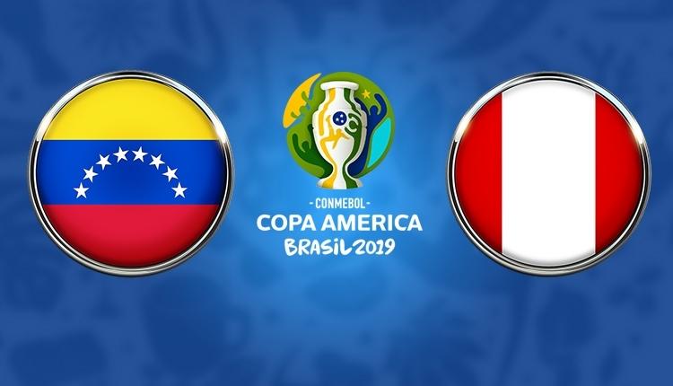 Venezuela - Peru maçı canlı, şifresiz izle (TRT Spor Copa America izle)