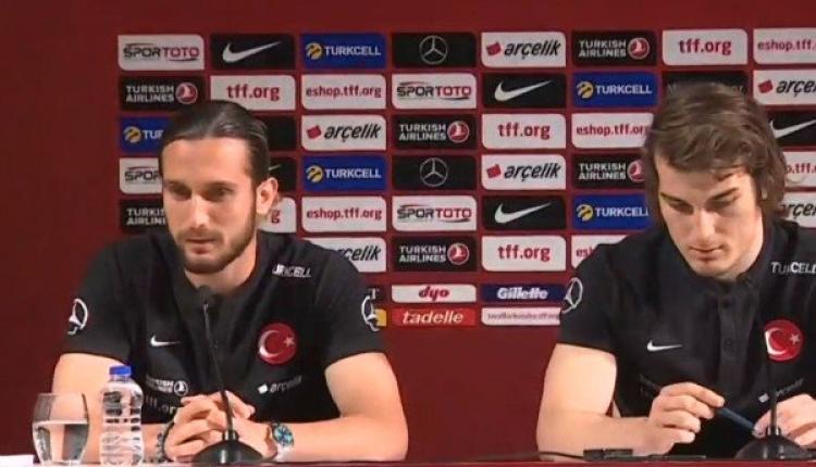 Yusuf Yazıcı ve Çağlar Söyüncü'den Fransa maçı mesajı