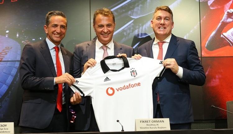 Beşiktaş - Vodafone sponsorluk anlaşması imzaladı