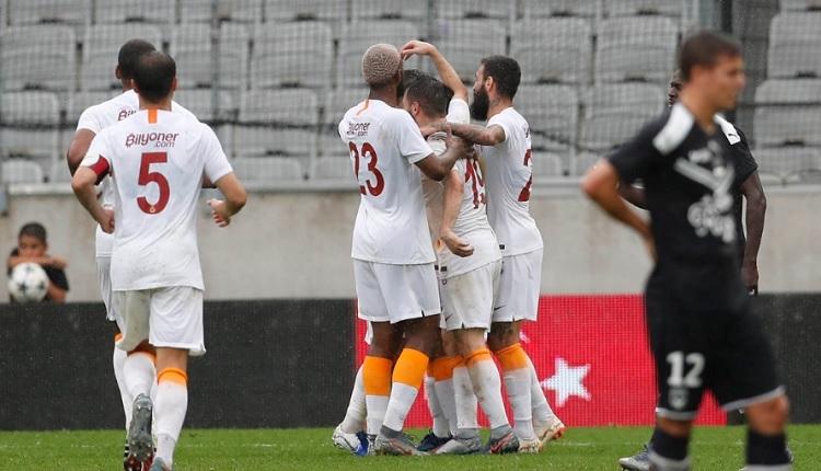 Bordeaux 1-3 Galatasaray hazırlık maçı özeti ve golleri (İZLE)