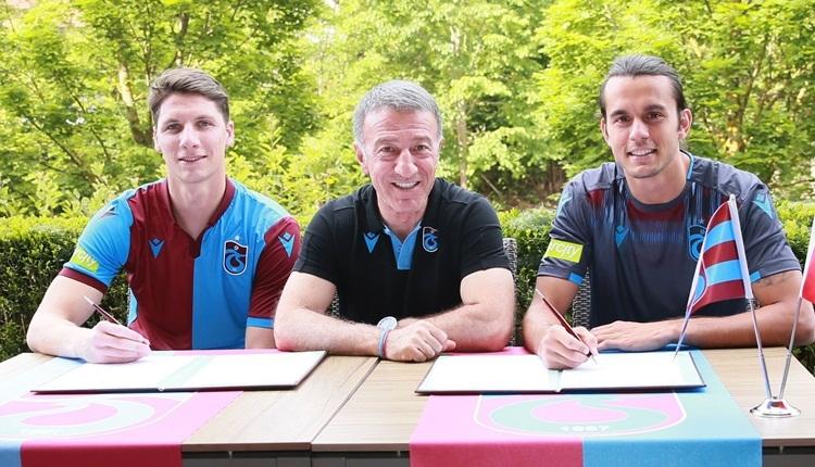 Campi ve Erce Kardeşler, Trabzonspor'a imza attı! İlk sözler