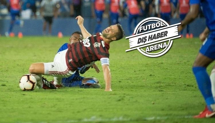 Diego Ribas'ın ayağı kırıldı! Pes etmeyeceğim.
