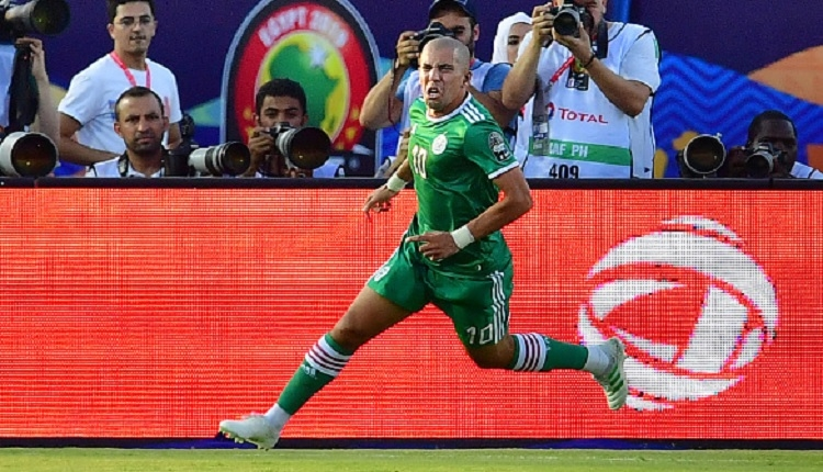Feghouli'nin Cezayir maçında attığı golü (İZLE)