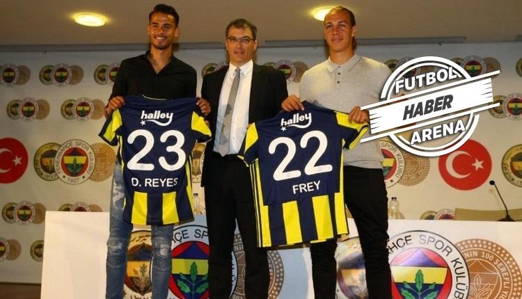 Fenerbahçe'de Frey ve Reyes takımda kalıyor