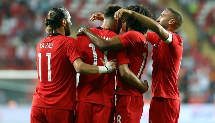 FIFA sıralaması açıklandı! Türkiye kaçıncı sırada?