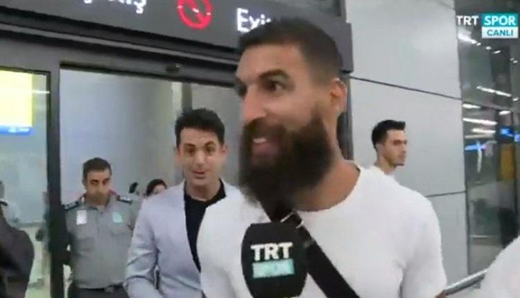 Galatasaray'ın yeni transferi Jimmy Durmaz, İstanbul'a geldi! İlk sözleri