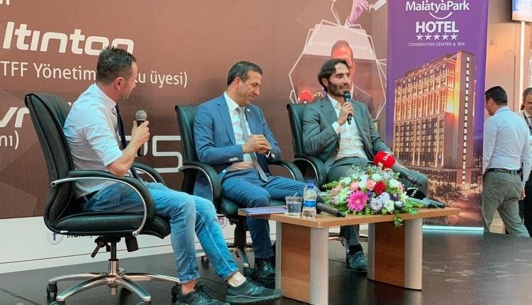 Hamit Altıntop ve Adil Gevrek, MalatyaPark AVM'de futbolseverlerle bir araya geldi