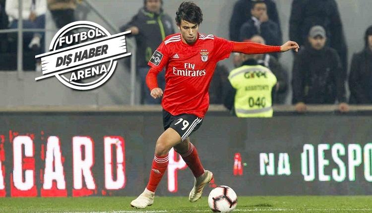 Joao Felix'in Atletico Madrid'e transferi açıklandı! 126 milyon euro