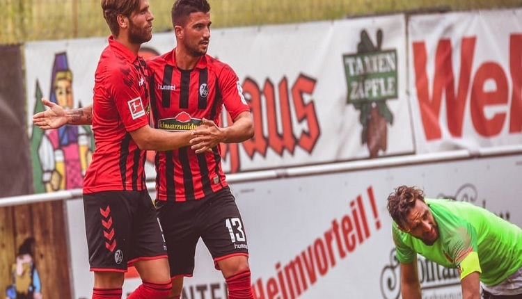 Kayserispor 1-9 Freiburg hazırlık maçı özeti ve golleri
