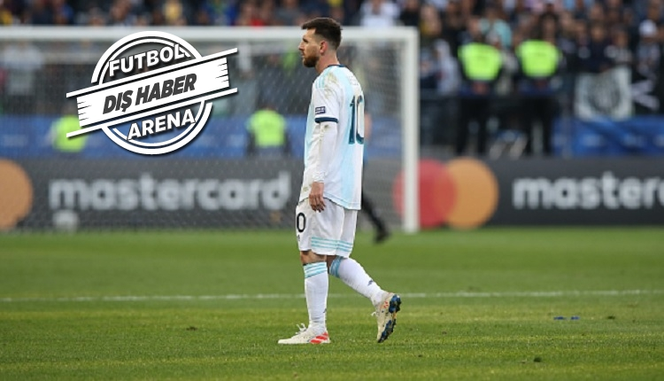 Messi'den protesto! Medel ile kavga sonrası kırmızı kart (İZLE)