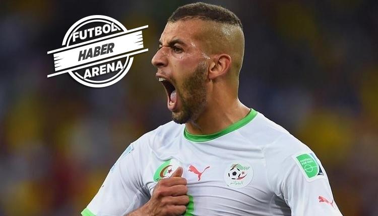 Slimani'den Cezayir maçında 10 dakikada 1 gol ve 2 asist (İZLE)