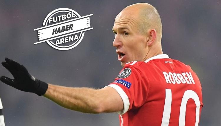 Son dakika! Arjen Robben futbolu bıraktı