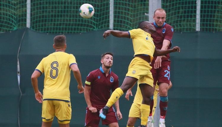 Trabzonspor 1-1 Verona hazırlık maçı özeti ve golleri