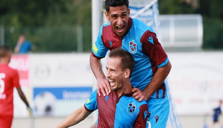 Trabzonspor 2-2 Parma maç özeti ve golleri (İZLE)