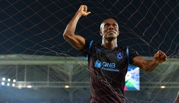 Trabzonspor'da Nwakame'ye yeni sözleşme! Maaşı 1.5 milyon euro oldu