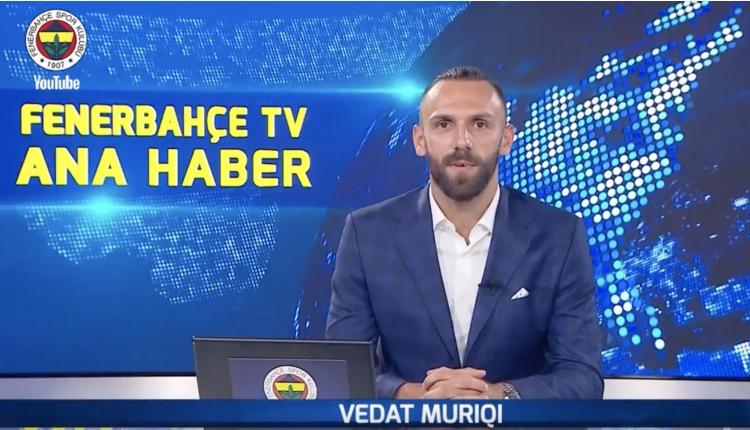 Vedat Muriqi: ''İyi ki Fenerbahçe'deyim''