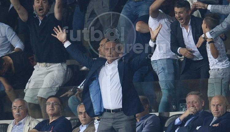 Ali Koç'un 90+3'te gelen gol sonrası büyük sevinci