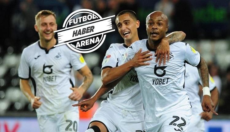 Andre Ayew Swansea City'de ilk maçında 2 gol attı