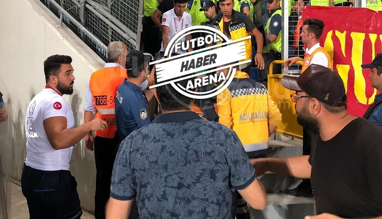 Ankaragücü - Kayserispor maçı sonrası olay! Yaralılar var