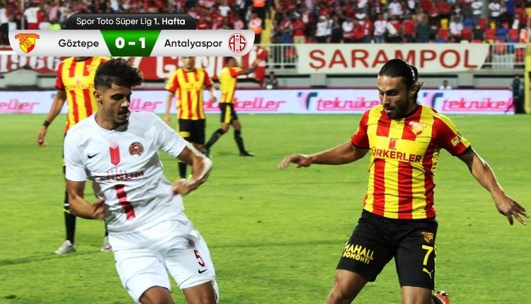 beIN Sports Göztepe 0-1 Antalyaspor maç özeti (İZLE)