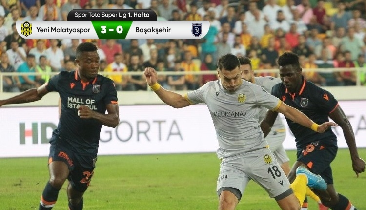 beIN Sports Yeni Malatyaspor 3-0 Medipol Başakşehir maç özeti (İZLE)