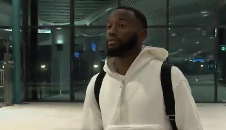 Beşiktaş'ın yeni transferi Kevin N'Koudou, İstanbul'a geldi