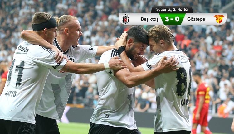 Beşiktaş'tan 3 gollü galibiyet